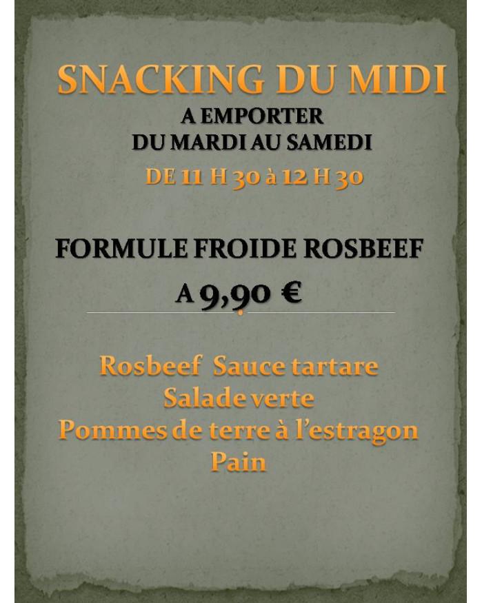 Formule Froide Rosbeef