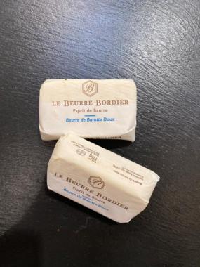 Beurre Bordier doux (125g)