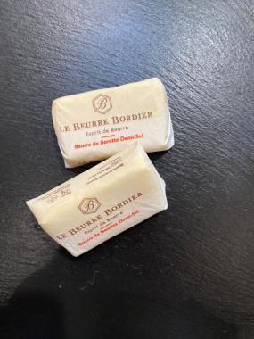 Beurre Bordier demi sel (125g)