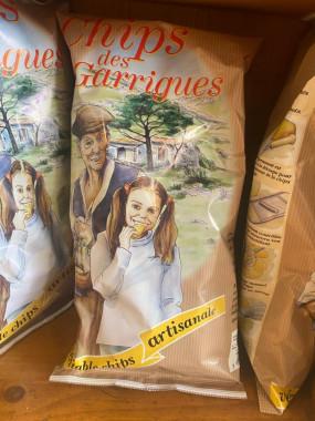 Chips artisanales 125g