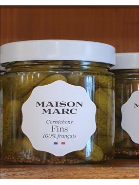 Cornichons fins Maison Marc (PNE 210g)